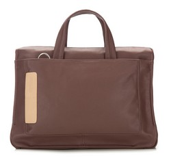 Laptop bag, brown, 85-3P-505-4, Photo 1