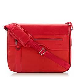 Torba na laptopa, czerwony, 86-3P-101-3, Zdjęcie 1