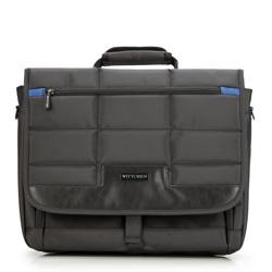 Torba na laptopa, czarny, 87-3P-116-1, Zdjęcie 1