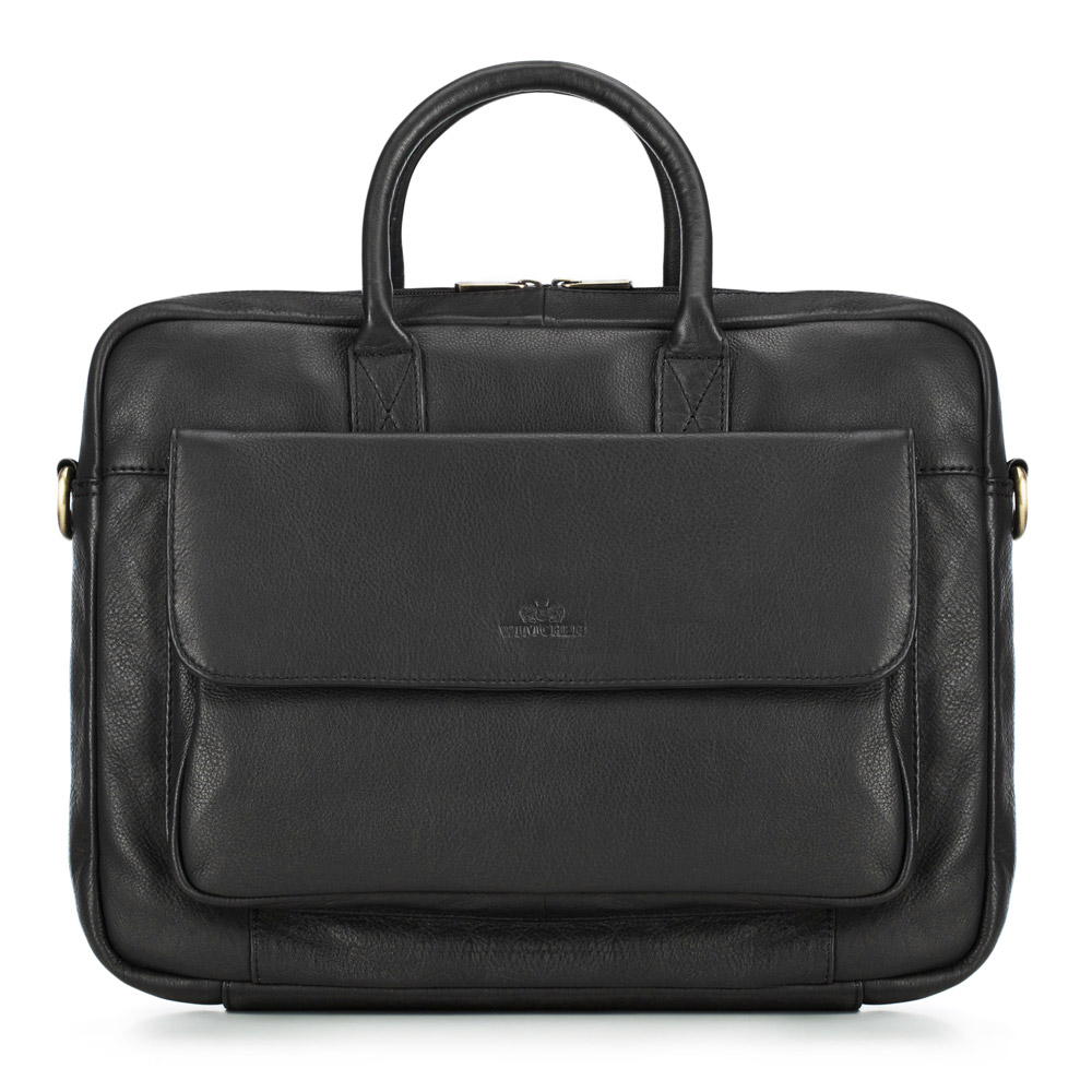 Torba na laptopa, czarny, 87-4U-604-1, Zdjęcie 1
