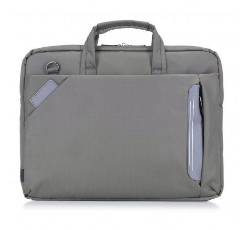 Torba na laptopa, szary, 88-3P-101-O, Zdjęcie 1