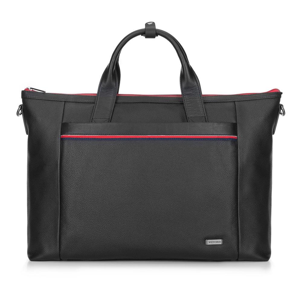 "Pánska taška na 17"" notebook z kolekcie Office Leather"