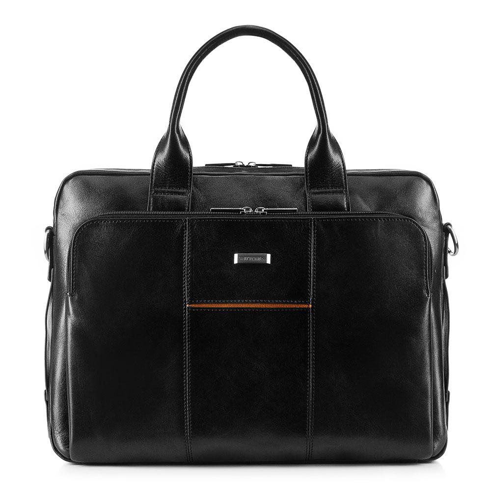 """Taška na 13""""/14"""" laptop z kolekcji Office Leather"""
