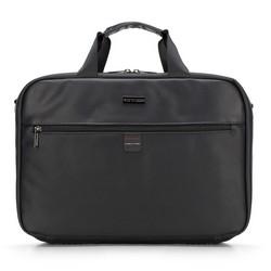 Torba na laptopa, czarny, 89-3P-204-1, Zdjęcie 1
