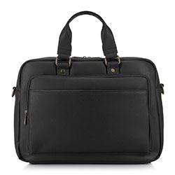 Torba na laptopa, czarny, 89-3P-501-1, Zdjęcie 1
