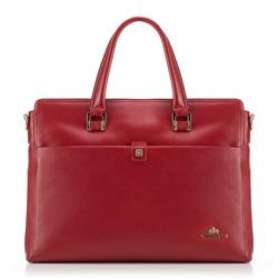 Torba na laptopa, czerwony, 89-4E-356-3, Zdjęcie 1