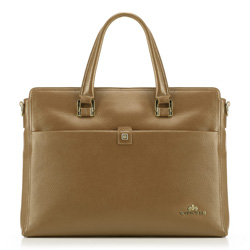 Laptop bag, beige, 89-4E-356-9, Photo 1