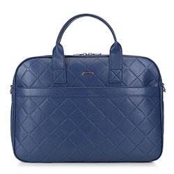 Laptop bag, navy blue, 89-4Y-303-7, Photo 1