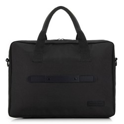 """Męska torba na laptopa 15,6"""" klasyczna, czarny, 91-3P-700-1, Zdjęcie 1"""