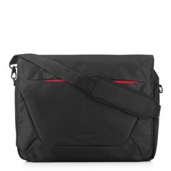 Torba na laptopa 15,6″ z klapą, czarny, 91-3P-701-12, Zdjęcie 1