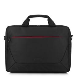 Torba na laptopa 15,6″ z kolorowym suwakiem, czarny, 91-3P-707-12, Zdjęcie 1