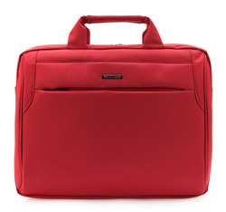 Laptop bag, red, 84-3P-100-3, Photo 1