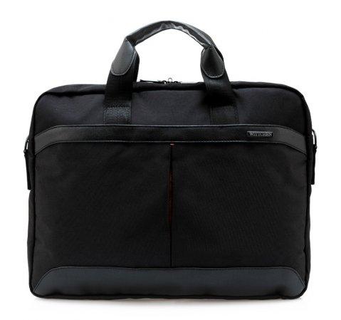 Torba na laptopa, czarny, 84-3P-105-1, Zdjęcie 1