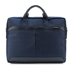 Laptop bag, navy blue, 84-3P-106-7, Photo 1