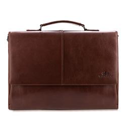 Torba na laptopa, brązowy, 84-3U-906-4, Zdjęcie 1