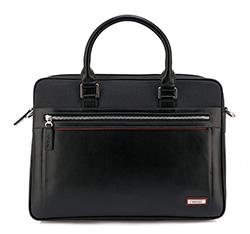 Torba na laptopa, czarny, 84-3U-203-1, Zdjęcie 1