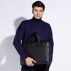 Miękka torba na laptopa UNISEX, czarny, 29-3P-001-1, Zdjęcie 1