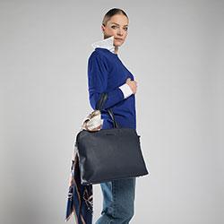 Laptop bag, navy blue, 90-3P-603-7, Photo 1