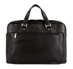 Laptop bag, black, 17-3-711-1, Photo 1