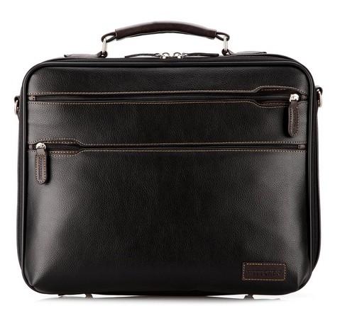 Torba na laptopa, czarny, 29-3-217-1, Zdjęcie 1
