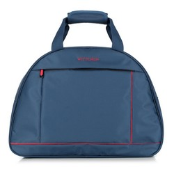 Travel bag, navy blue-red, 56-3S-465-91, Photo 1