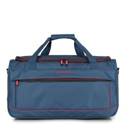 Travel bag, navy blue-red, 56-3S-466-91, Photo 1