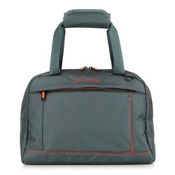 Travel bag, grey-orange, 56-3S-468-01, Photo 1