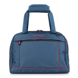 Travel bag, navy blue-red, 56-3S-468-91, Photo 1
