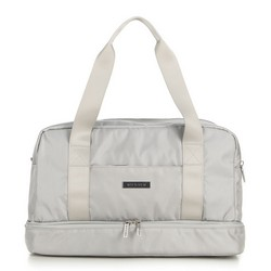 Weekend travel bag, grey, 56-3S-708-01, Photo 1