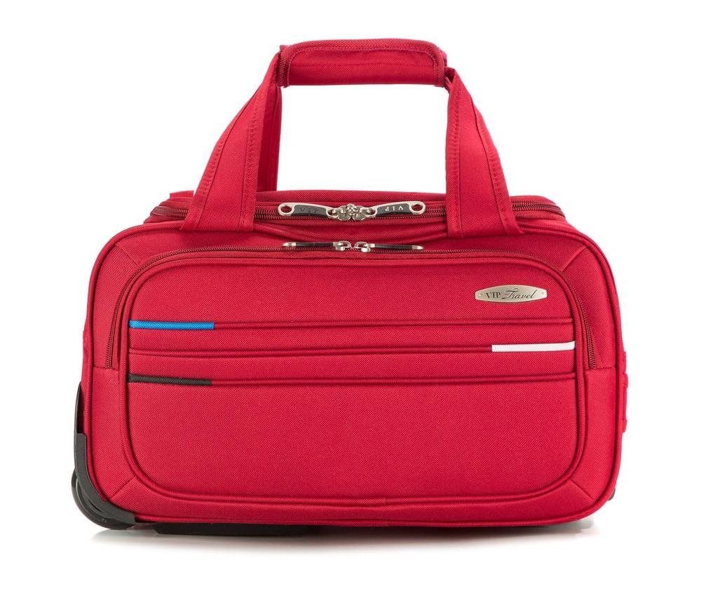 Сумка на колесиках 16 дюймов Wittchen V25-10-477-30, красныйЛегкий чемодан на колёсах из коллекции Trim Line. Внутри основного отделения чемодана есть ремни для фиксации одежды и карман - сетка на молнии, отделение на молнии с кодовым замком TSA, два внешних кармана.  Особенности модели: основное отделение с регулируемыми ремнями, сохраняющими одежду от перемещения, на молнии; сетчатый карман на молнии. Снаружи: 2 передних кармана на молнии; выдвижной ярлычок для записи данных.<br><br>секс: унисекс<br>материал:: Полиэстер<br>подкладка:: полиэстер<br>высота (см):: 42<br>ширина (см):: 31<br>глубина (см):: 25<br>объем (л):: 25<br>вес (кг):: 2,3