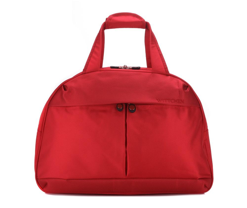 Дорожная сумкаДорожная сумка из коллекции Travel Light.  Особенности модели:  основное отделение на молнии;  2 кармана на молнии , 1 из которых карман - сетка.  Дополнительно: с лицевой стороны и с тыльной стороны карман на молнии; возможность соединения ручек; съемный, регулируемый плечевой ремень;<br><br>секс: женщина<br>материал:: Полиэстер<br>подкладка:: полиэстер 210D<br>высота (см):: 32<br>ширина (см):: 45<br>глубина (см):: 22