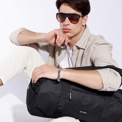 Torba podróżna basic duża, czarny, 56-3S-936-10, Zdjęcie 1