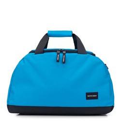 Torba podróżna basic mała, jasny niebieski, 56-3S-926-77, Zdjęcie 1