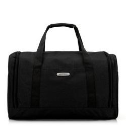 Torba podróżna melanżowa średnia, czarny, 56-3S-942-10, Zdjęcie 1