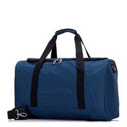 Torba podróżna melanżowa średnia, niebieski, 56-3S-942-95, Zdjęcie 1