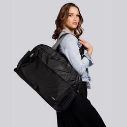 Large nylon travel bag, black, 92-4Y-105-1, Photo 1