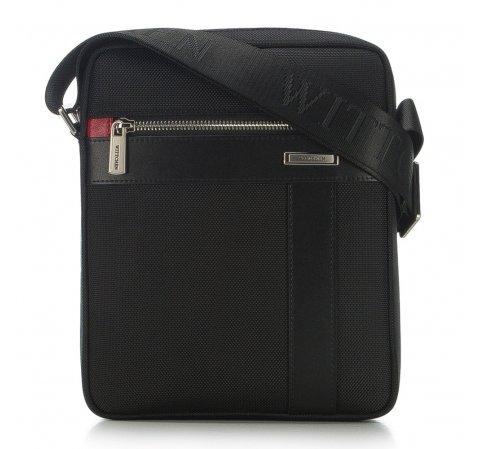 Мужская сумка через плечо из нейлона и кожи 91-4U-204-1