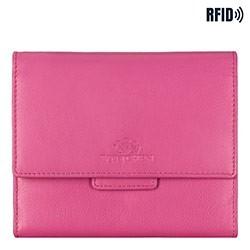 Portfel, różowy, 14-3-103-P, Zdjęcie 1
