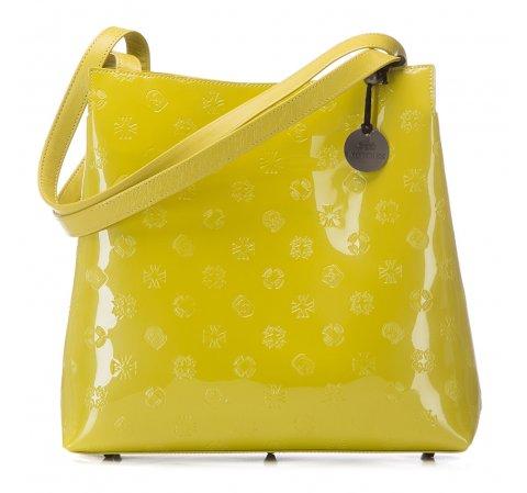 Torebka damska, limonkowy, 34-4-082-LL, Zdjęcie 1