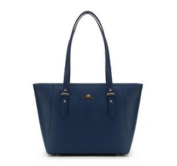 Tote bag, navy blue, 85-4-441-7, Photo 1