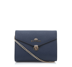 Clunch bag, navy blue, 85-4-447-7, Photo 1