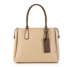 Tote bag, beige, 85-4E-207-9, Photo 1