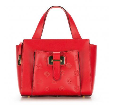 Torebka damska, czerwony, 86-4E-002-3, Zdjęcie 1