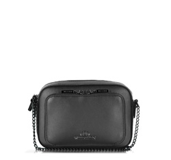 Cross body bag, black, 86-4E-204-1, Photo 1
