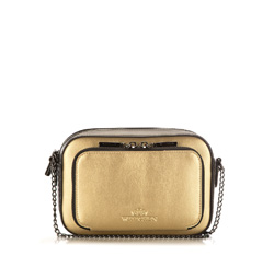 Cross body bag, gold, 86-4E-204-G, Photo 1