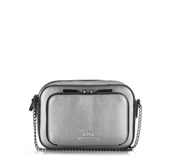 Cross body bag, silver, 86-4E-204-S, Photo 1