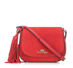 Flap bag, red, 86-4E-223-2, Photo 1