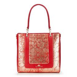 Tote bag, red, 86-4E-370-3, Photo 1