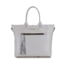 Shopper bag, grey, 86-4E-401-8, Photo 1