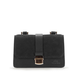 Flap bag, black, 86-4E-409-1, Photo 1
